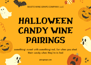 candy and wine pairing-wine pairing-wine and food-musto wine grape