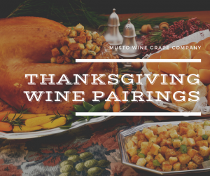 thanksgiving wine and food pairings