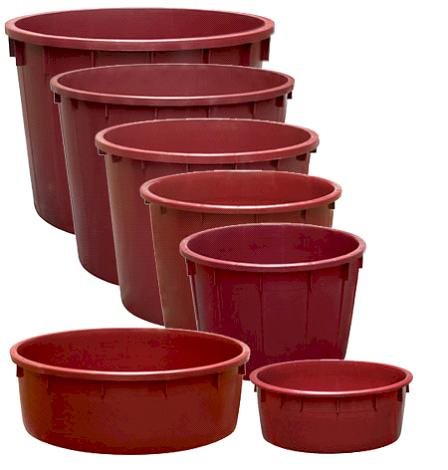 fermenting tubs assorted
