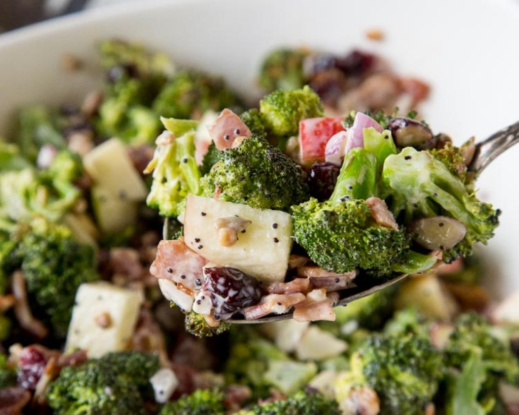 Apple Broccoli Salad