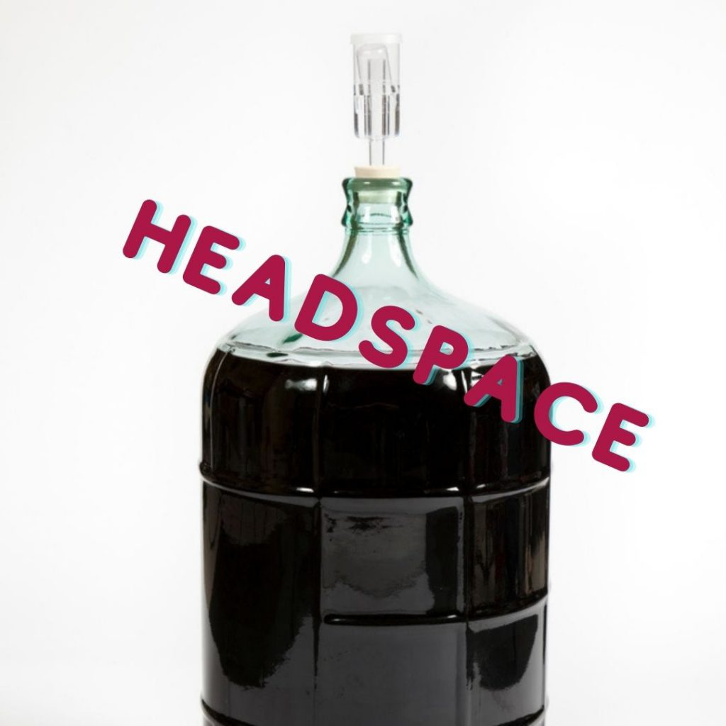headspace in your wine